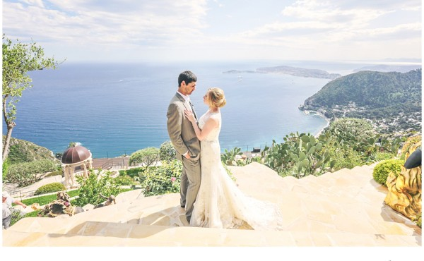 Chateau Chèvre D'or Eze Village French Riviera Wedding
