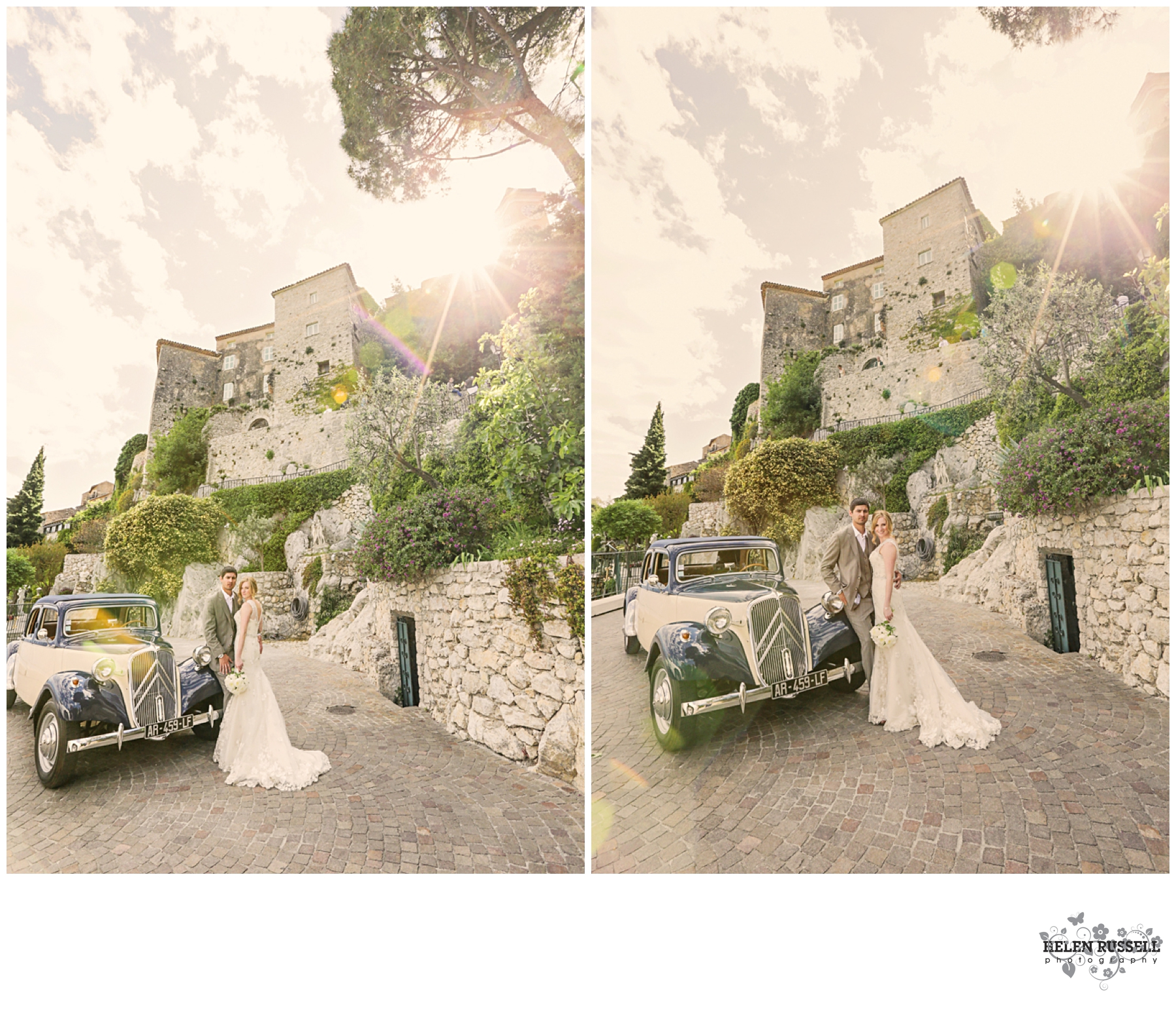 chèvre d'or, Eze Village Wedding