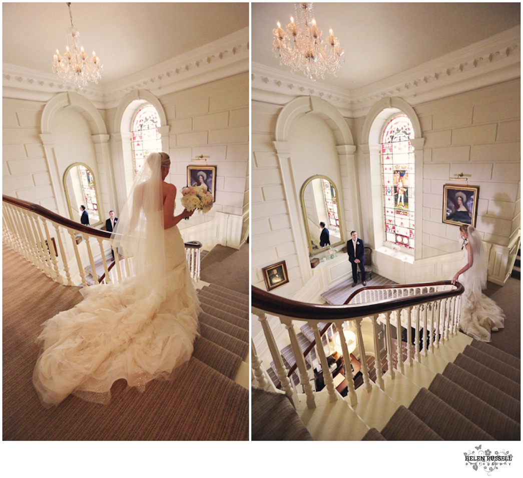 Eshott Hall, Northumberland- A Vera Wang Wedding Dress And