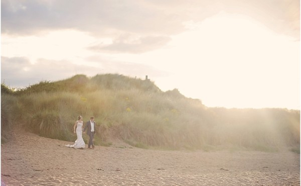 Newton Hall, Ronald Joyce, Beach Wedding, Fine Art, Northumberland